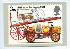 wbc - .GB - PHQ CARDS - 1973 - FIRE SERVICE - FRONT - FDI/SHS - SINGLE CARD SET
