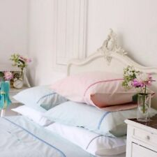 Designers Guild Monville Embroidered Standard Pillow Case Pink Pastel