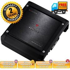 Kenwood X501-1 500W RMS Monoblock X-Series Compact Class D Car Amplifier