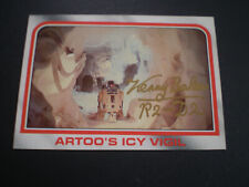 More details for star wars esb topps card #29 signed by kenney baker r2-d2 w/ exact proof