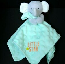 ✅ Carters Child Of Mine Elephant Baby Security Blanket Lovey Plush Stuffed Doll
