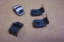 1955 1956 Ford & Thunderbird NOS Headlight Bezel Retainer Clips Set-4  55 56