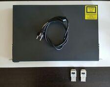 CISCO WS-C3524-PWR-XL-EN PoE Switch + 2x GBIC 1000BASE-SX Module Enterprise Ed.