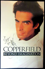 Autographed David Copperfield Beyond Imagination Window Card