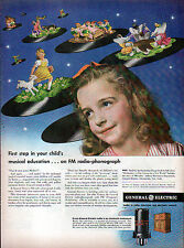 1940's KELLOGG's, GENERAL ELECTRIC GE & DuBARRY FACE POWDER ADS