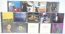 Lot of 14 Rock, Pop, Metal, Raggae Cds Marley, Limp Bizkit, Kravitz, New Order