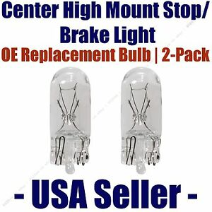 Center High Mount Stop/Brake Bulb 2pk - Fits Listed Asuna Vehicles - 194