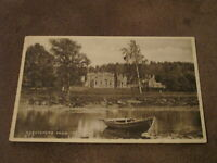 Early postcard - Abbotsford from river Tweed - Nr Melrose - Sir Walter Scott