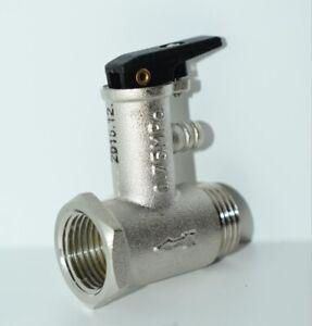 Sicherheitsventil für Boiler