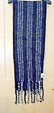 Black and white warm long scarf - new with tags