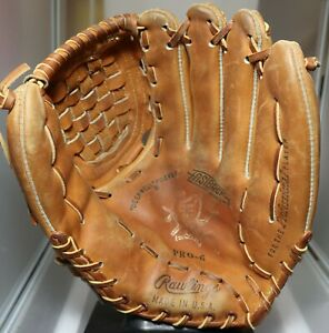 Rawlings PRO-6 Heart of the Hide Made in USA  RHT baseball glove mitt