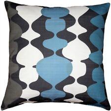 Pillow Decor - Lava Lamp Charcoal Blue 19x19 Throw Pillow (Pd2-0130-01-19)