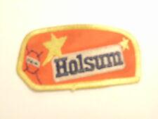 Vintage Holsum bread / bakery worker uniform patch (Central PA)