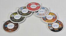 Sony PSP UMD Filmsammlung,Godzilla,Hitch,Ong-Bak,Snatch,XXX2,Welcome t.t.Jungle