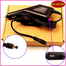 Laptop Car DC Adapter Charger & USB for Lenovo ADP-65KH B 4334-7XU Y330 Y430