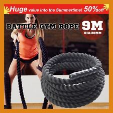 Cross Fit Functional Cross Training Gym BATTLE ROPE 30 foot 9m