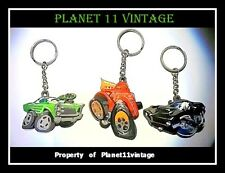 3  SPEED FREAKS GTO Firebird ford keychain keyring hot rod muscle car Terry Ross