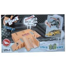Skate Park Kit Ramp Parts for Fingerboard Mini Finger Skateboard Fingerboards