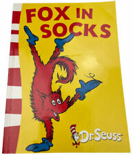 Fox in Socks Children's Picture Book by Dr Seuss 2003 Harper Collins Free Post