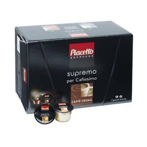 Piacetto Caffe Crema Cafissimo (1x96 Capsules) -Tracked Service -
