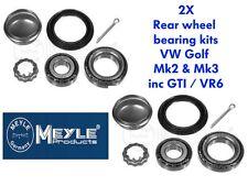Meyle Kit Cuscinetti Ruota Posteriore CORRADO VENTO GOLF MK2 MK3 & GTI & VR6 KIT X2