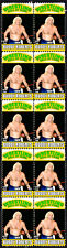 BUDDY ROBERTS WRESTLING HALL OF FAME INDUCTEE STRIP OF 10 MINT STAMPS