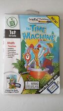 Leap Frog Leap Pad Plus Writing Math The Time Machine Adventure Book Cartridge