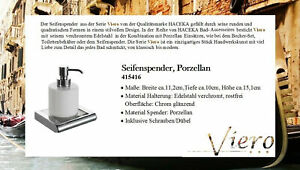 Strong Reduced ! ! Viero Soap Stainless Steel Chrome-Plated