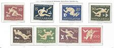 More details for yugoslavia, 1956, melbourne olympics, mi 804-811, unmounted mint.