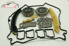 Timing Chain Kit for Mercedes M271 Camshaft Adjuster C200 C230 E200 SLK200 1.8L