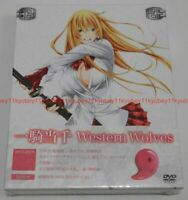 New Ikki Tousen Western Wolves First Limited Edition DVD CD Booklet Box Japan