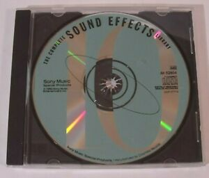 The Complete Sound Effects Library - Volume 10 (Sony Music, CD, 1992)