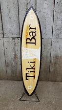 SU 100 N3 (he) / Deko Surfboard 100 cm Retro Surfbrett Holz surfen vintage