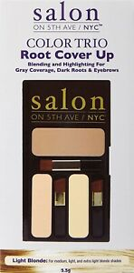 Salon on 5th Ave Color Trio Root Cover Up Light Blonde-2 PACK