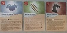 Dungeons & Dragons Attack Wing Saddle Cavalier Monster Dragon Equipment Card NEW
