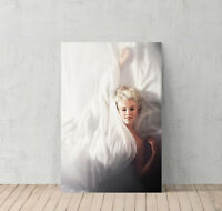 Marilyn Monroe Canvas Print Decorative Modern Wall Art in the Bed