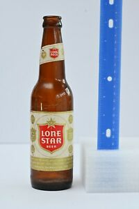 Lone Star beer bottle, Vintage Beer Bottle 1970s