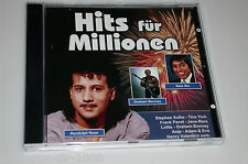 HITS FÜR MILLIONEN CD DEUTSCHER SCHLAGER MIT TINA YORK / LOLITA / ERIK SILVESTER