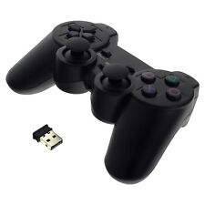Gaming Controller Gamepad mit Vibration für Playstation 3 PS3 PC USB Schwarz