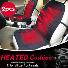 2 x Car Truck Seat Heater Cover Thickening Heated Heating Cushion Winter