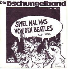 """""""7"""" - DIE DSCHUNGELBAND - Spiel mal was von den Beatles - near MINT !!!"""