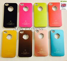 Air Jacket Aluminio Case Iphone 4/s De Lujo De Metal Duro Bck Cover + Protector De Pantalla
