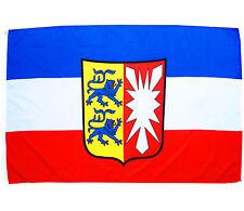 Fahne Schleswig - Holstein Querformat 90x150 cm Hissflagge Wappen Bundesland BRD