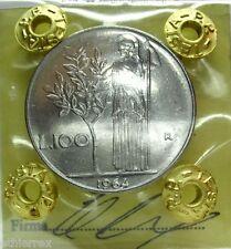 Repubblica Italiana (Lire 100 - 1964) Minerva I