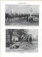 WW1 Galician Peasants Watch Allied Retreat River Bug