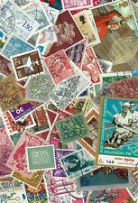 200+ Worlwide stamps Old & New Mostly postal used. Different.Kiloware.Collection