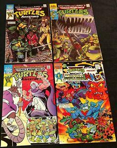 Archie Teenage Mutant Ninja Turtles:Mini-series 1,Regular 2,4,+New Old Stock