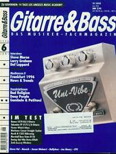 Gitarre & Bass 1996/06 (Steve Morse)