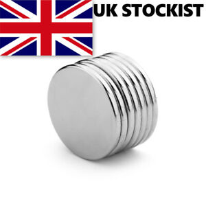 Super Strong Neodymium Magnets - Craft Small Disc - 10x1mm 10mm x 1mm UK SELLER