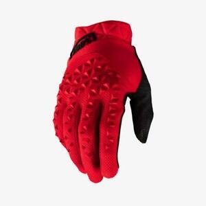 100 Percent GEOMATIC Glove Red LG